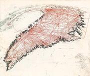 Etsning - Iskart - m rødt