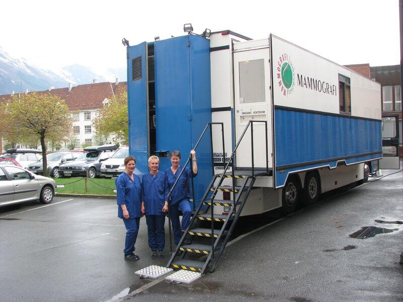 Denne høsten tar mammografibussen turen til Sonjatun!