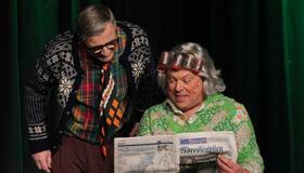 Bilde av vinnerne av kulturprisen 2019, Bjørn og Trygve Stuevold