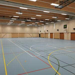 Flerbrukshall, Nordre Ål skole