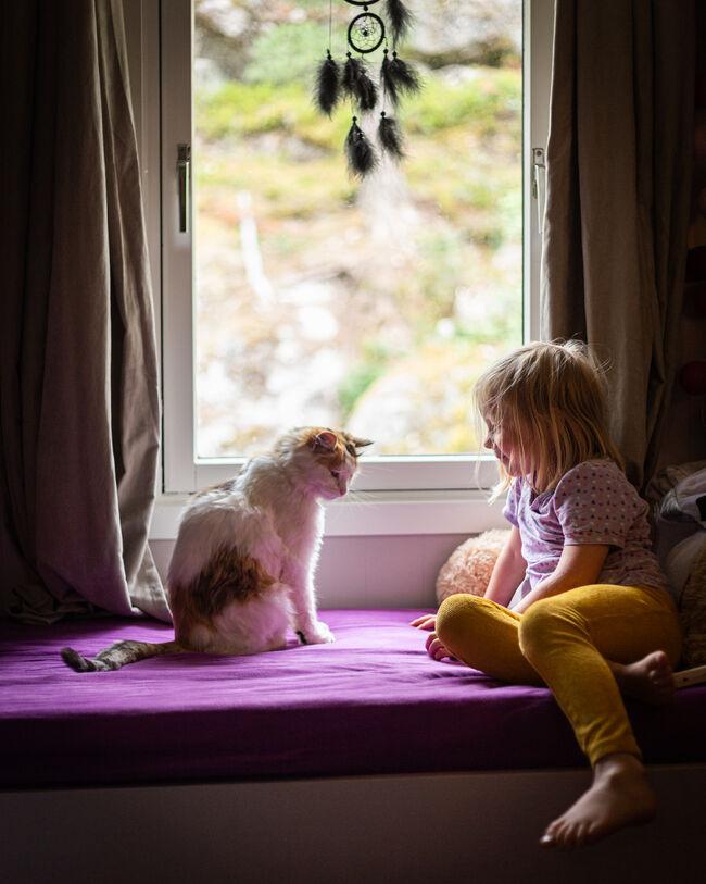 Irma og katten Malin