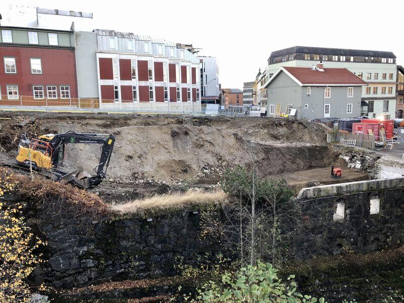 Bygging i Terrassen