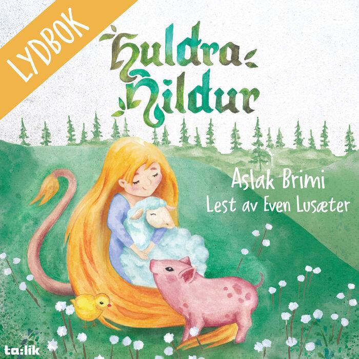 Cover _ lydbok _ Huldra Hildur3000