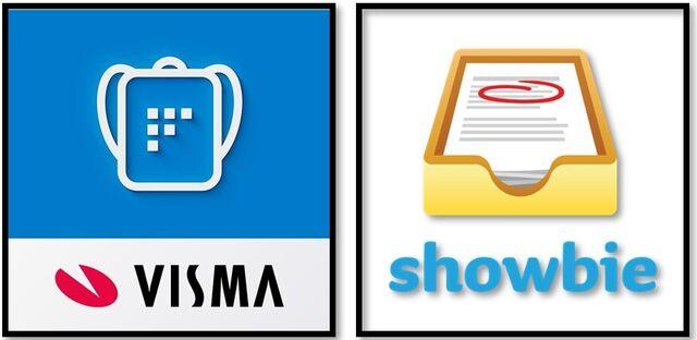 App for Visma og Showbie