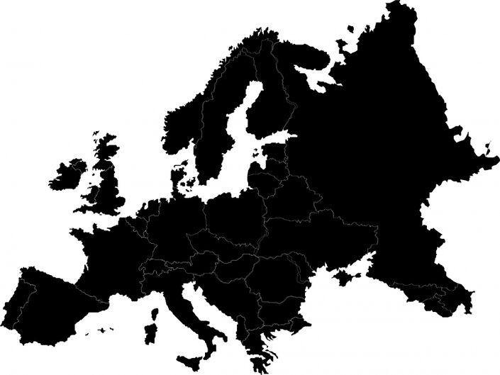 Kartomriss Europa