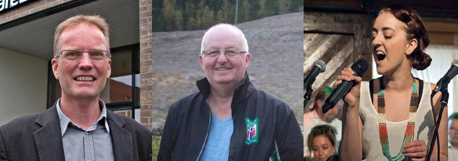 Bilde av Tor Helge Larsen, Gunnar Smiseth og Aina Kristiansen