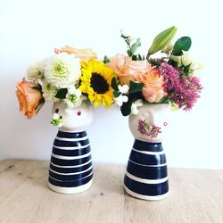 Vaser x 2 m blomst