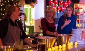 Juleball for ungdomsskuleelevane på Gimle