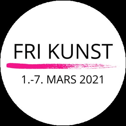 Logo_Fri Kunst 2021_transparent_svart tekst