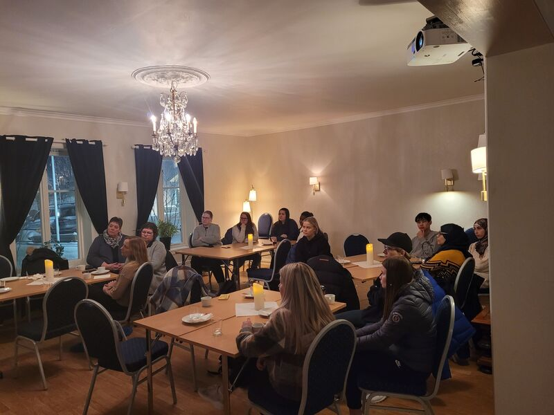 Samling for lærlingene i Skjervøy kommune