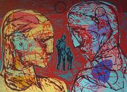 Par hoder rød