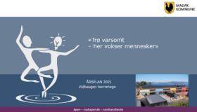 Årsplan - Vidhaugen barnehage 2021 forside