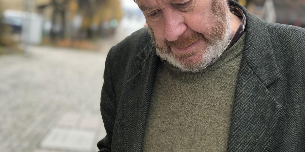 Ivrig leser: Morten Jostad kjenner godt til norsk litteraturhistorie.