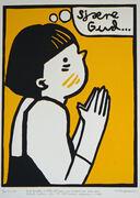 Sjære gud gul