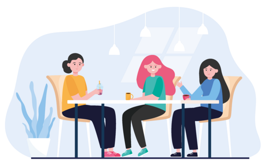 46920676-female-friends-hanging-out-in-cafe