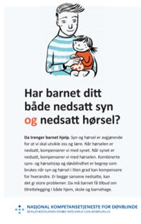Har barnet ditt både nedsatt syn og hørsel[1]