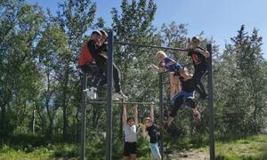 Camp spesial i Tufteparken