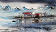 34-2021 akvarell 71 x 43 cm