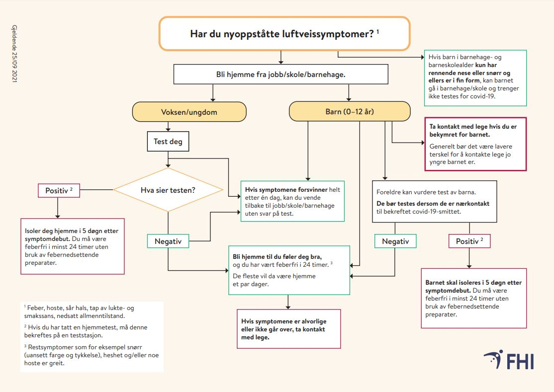 Flytskjema yoppståtte luftveissymptomer sept 2021