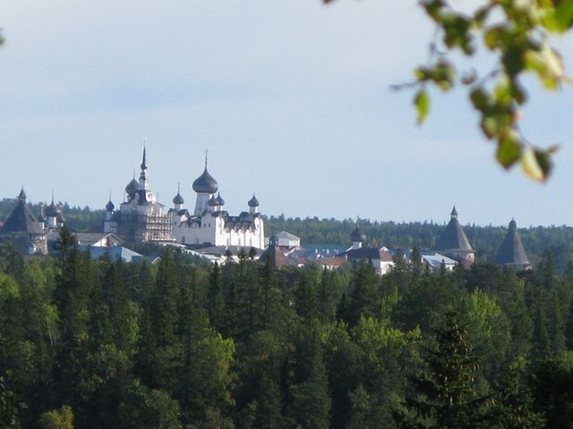 Klostret p� Solovki_1