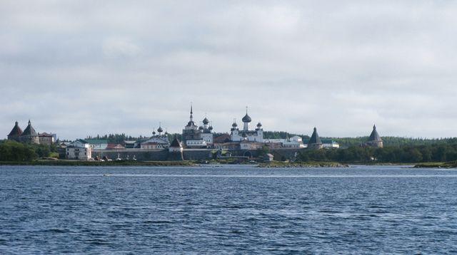 Klosteret p� Solovki